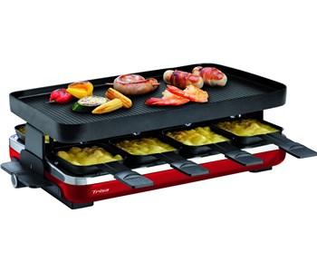 Raclette-Supreme-8-rot-trisa-testsieger-raclette-ofen