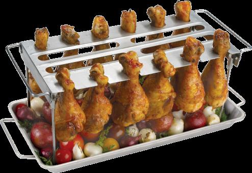 grill-gestell-pouletschenkel-poulet-pouletfluegel