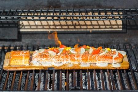 Grill Grillen Grillieren BBQ Planks Holz