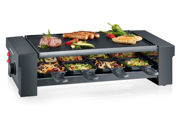 Pizza Raclette Grill Severin