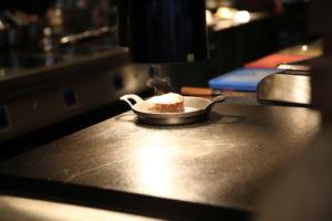 rindsfilet im grill restaurant aura zürich
