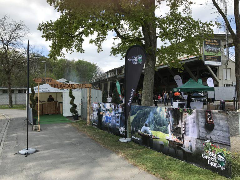 Big Green Egg Falvour Fair 2017 - Eingang