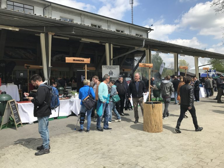 Big Green Egg Falvour Fair 2017 - Gelände Austellung