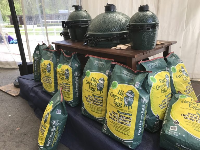 Big Green Egg Falvour Fair 2017 - Grill mit Kohle