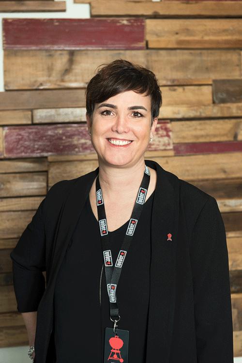 Johanna Suter Geschäftsführerin von Weber-Stephen Schweiz