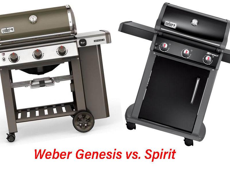 weber genesis spirit unterschied